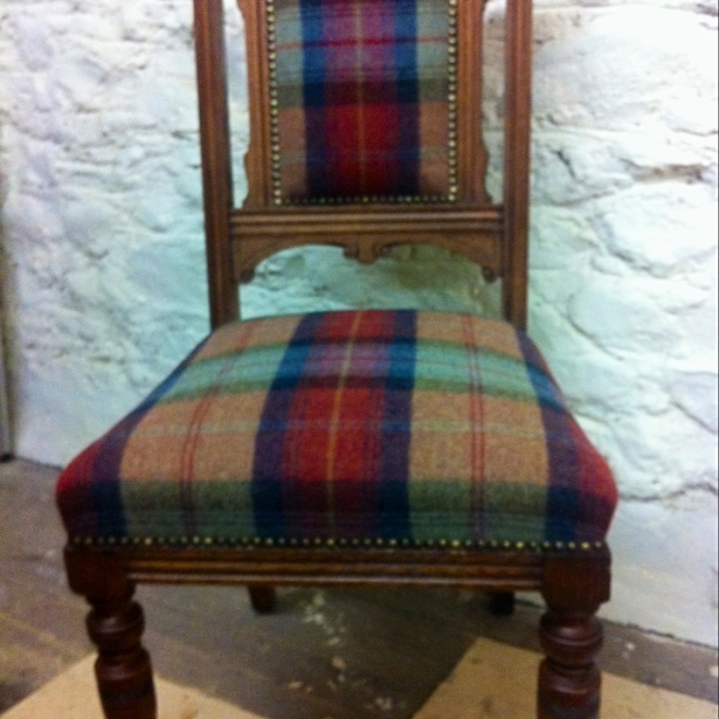 Dining chair for Level 2 AMUSF course