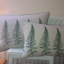 fern cushions, available in a variety of sizes
