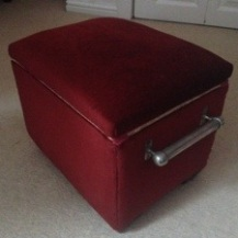 small sewing box..before pic