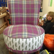 the finshed chair!!
