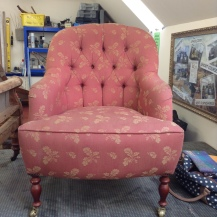 Before: level 3 armchair, deep buttoned